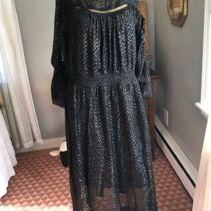 Tracy Reese Black Dress Size M